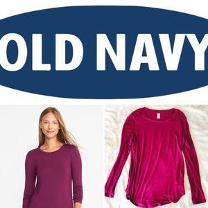Old Navy Luxe Long Sleeve Tee
